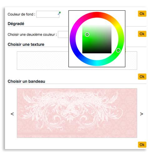 Changez de design en quelques clics