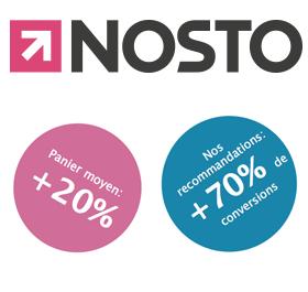 Recommandation de produits avec Nosto